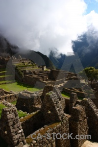 Machu picchu ruin south america inca trail unesco.
