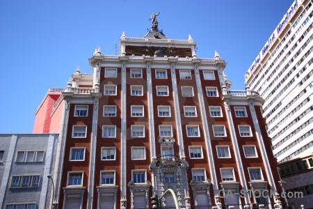 Madrid building sky spain europe.