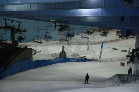 Mall of emirates asia dubai middle east skiing.