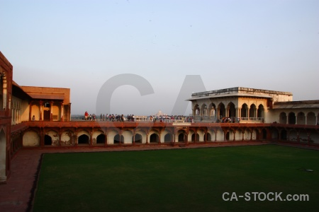 Marble building palace jahangir monument.