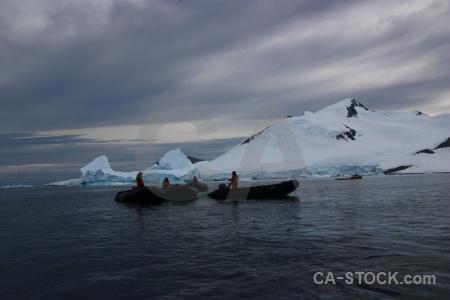 Marguerite bay snowcap antarctica cruise sky day 5.