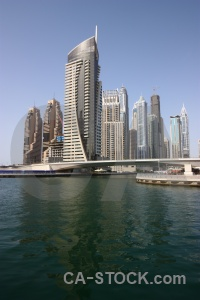 Marina building middle east uae asia.