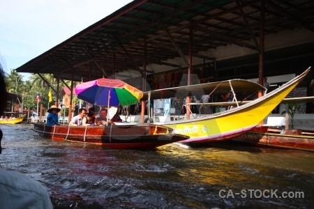 Market boat water vehicle ton khem.