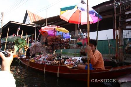 Market thailand ton khem water asia.