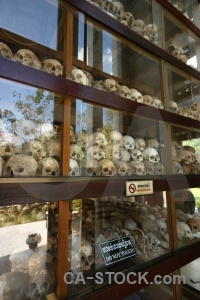 Mass grave cambodia asia skull phnom penh.