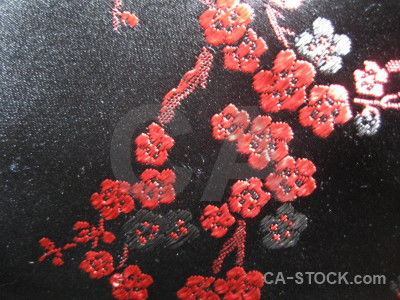 Material texture red textile.