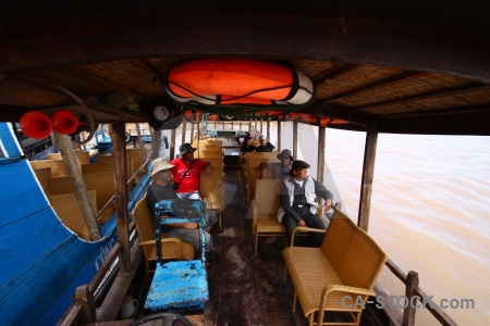 Mekong delta southeast asia vehicle vietnam water.
