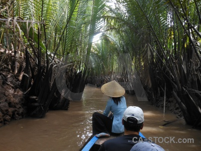 Mekong delta vehicle thoi son island hat boat.