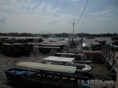 Mekong river asia boat my tho southeast.