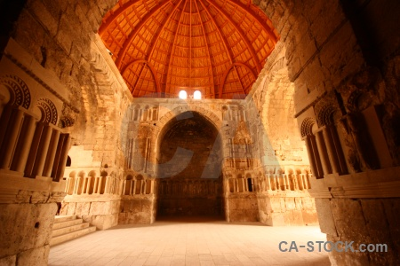 Middle east ancient citadel roman asia.