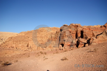 Middle east ancient jordan cliff nabataeans.