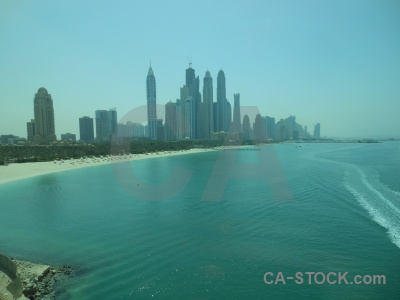 Middle east beach asia uae sky.