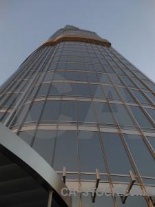 Middle east building asia burj khalifa skyscraper.