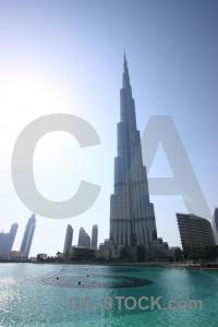 Middle east burj khalifa western asia uae dubai.