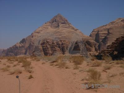 Middle east jordan western asia rock wadi rum.