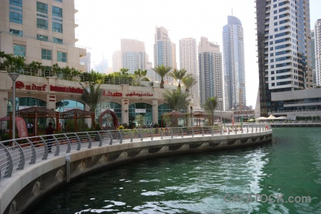 Middle east marina dubai water western asia.