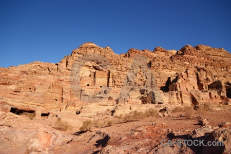 Middle east petra ancient nabataeans rock.