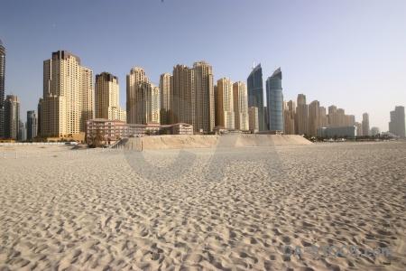 Middle east skyscraper sand western asia sky.