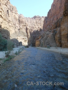 Middle east wadi asia stone cliff.