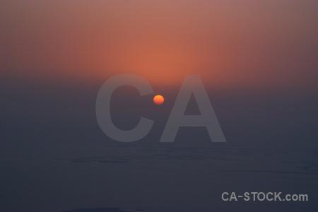 Middle east western asia sun sunrise burj khalifa.