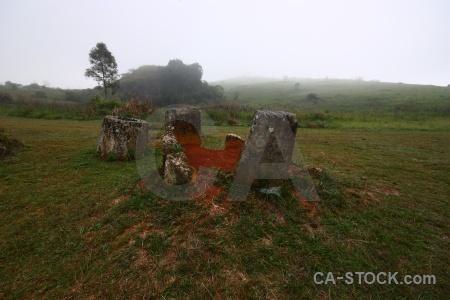 Misty lichen site 1 sky megalithic.