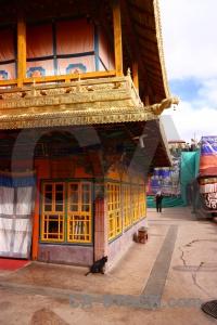 Monastery east asia tibet buddhist jokhang.