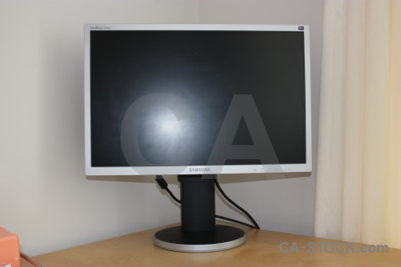 Monitor computer object.