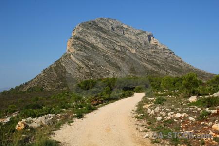 Montgo climb montgo javea path europe.