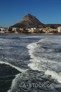 Montgo europe javea wave water.