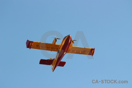 Montgo fire firefighting europe javea airplane.