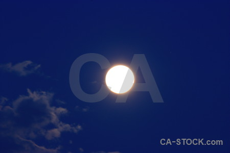 Moon cloud blue.