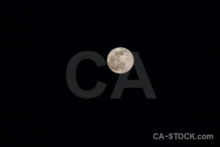 Moon javea sky spain europe.
