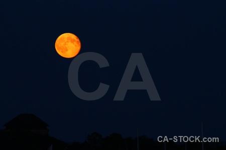 Moon karlskrona europe sweden sky.