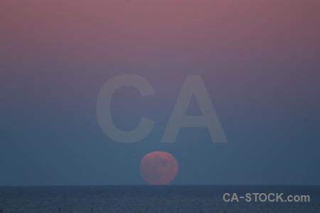 Moon sky europe spain sea.