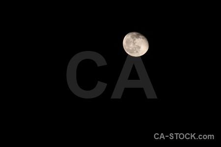 Moon spain javea black europe.