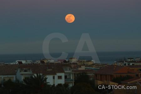 Moon spain javea europe.