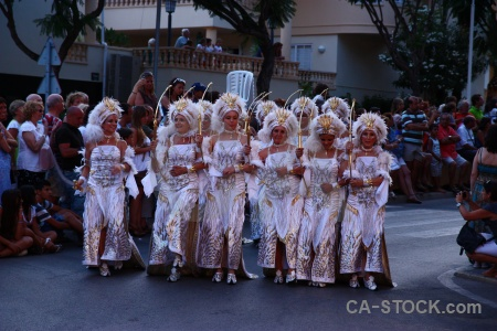 Moors christian javea costume fiesta.