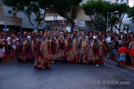 Moors javea costume person christian.