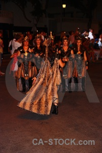 Moors javea costume person fiesta.