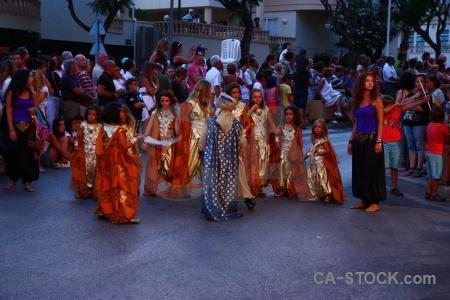 Moors person christian fiesta javea.