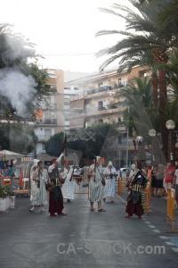 Moors smoke musket javea fiesta.
