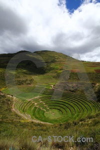 Moray altitude cloud south america maras.