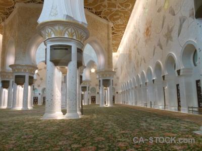 Mosque arabic abu dhabi asia sheikh zayed.