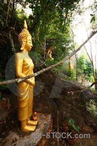 Mount phu si mount phou southeast asia phousi buddhism.