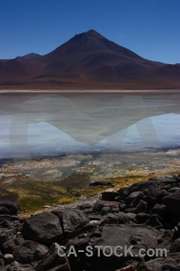 Mountain algae altitude laguna blanca bolivia.