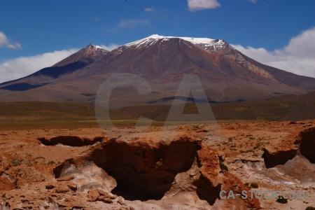 Mountain altitude landscape rock bolivia.
