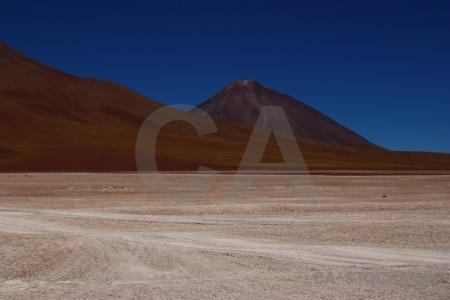Mountain andes altitude landscape bolivia.