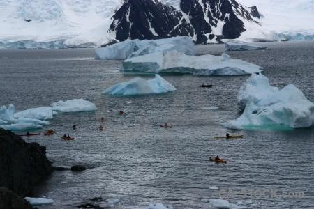 Mountain antarctica cruise antarctic peninsula iceberg sea.