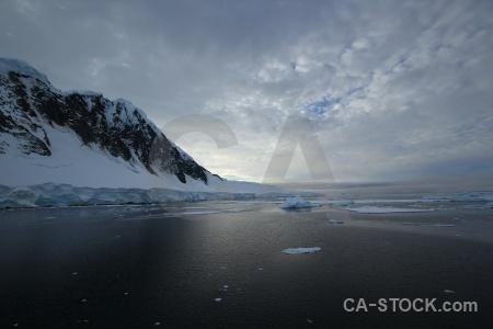 Mountain antarctica cruise sky ice cloud.