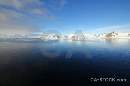 Mountain antarctica marguerite bay adelaide island south pole.